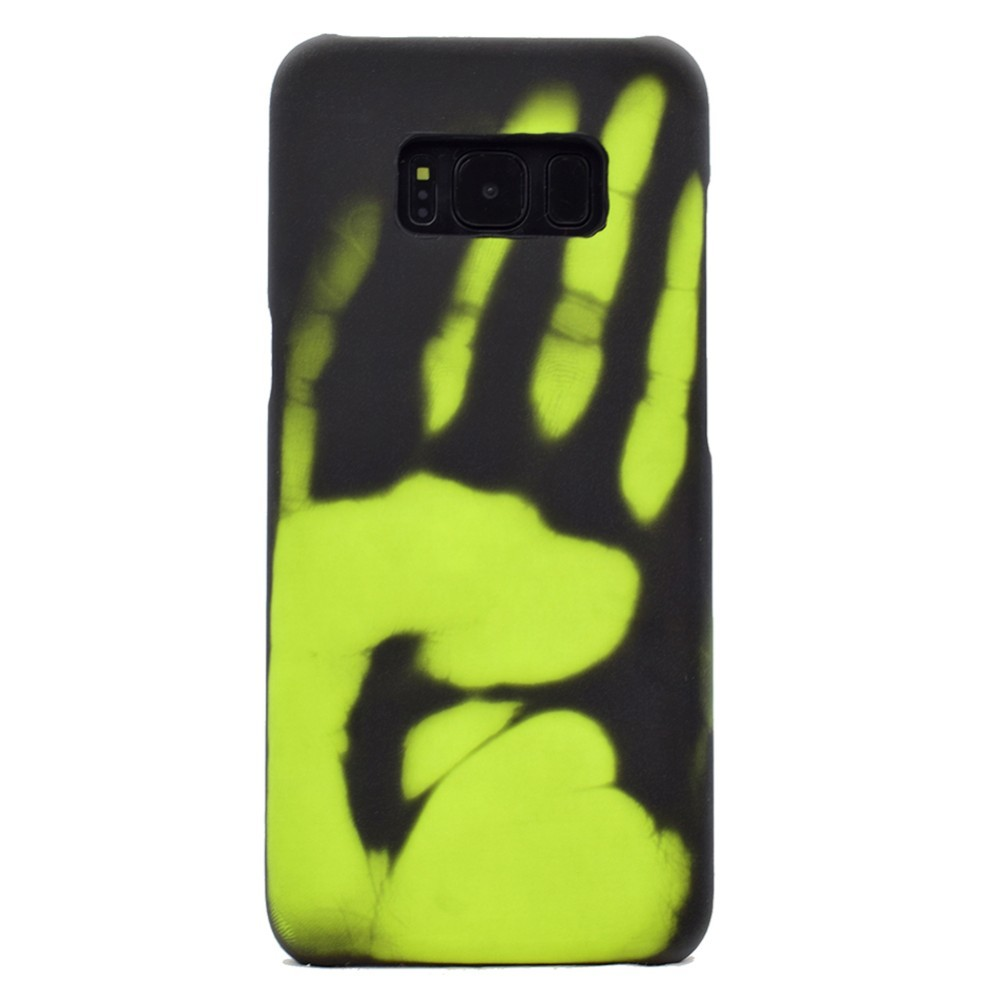 A7 2018 A750 Thermal Sensor Cases For Samsung Galaxy Note 9 8 S7 S8 S9 S10 Plus Lite A8 2018 A6 Plus Fluorescent Color Changing