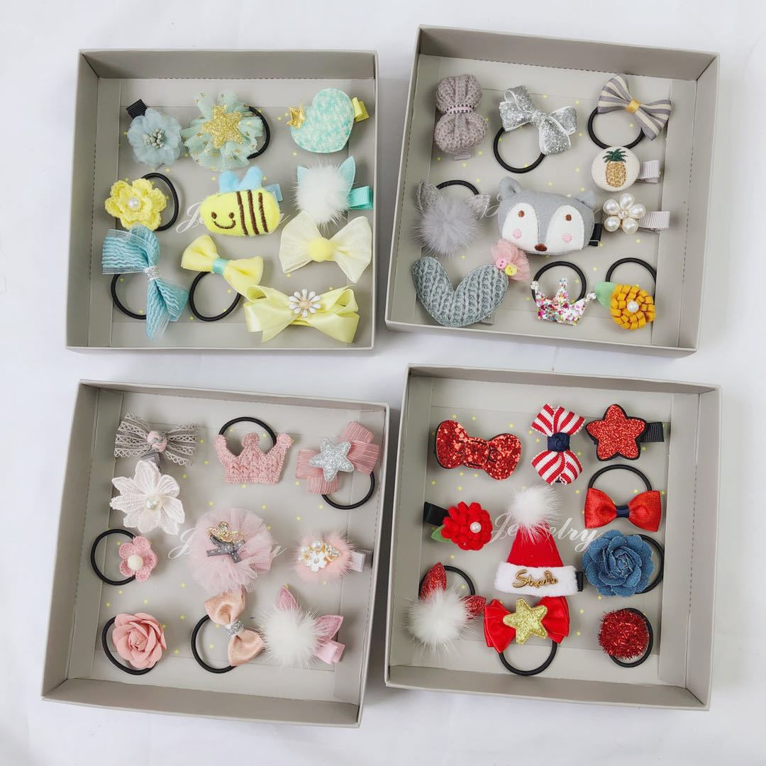 Baby crown baby crown princess hairpin baby hairpin flower lovely hair accessory girl headbands hot-sell