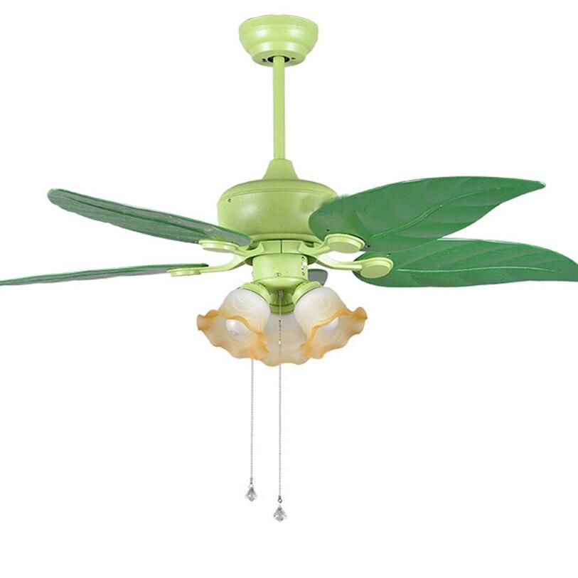Led e27 En Plastique Fer Verre Calme Ventilateur de Plafond Lampe LED. LED Lumière. Plafonniers. LED Plafonnier. plafond Lampe Pour Foyer Chambre