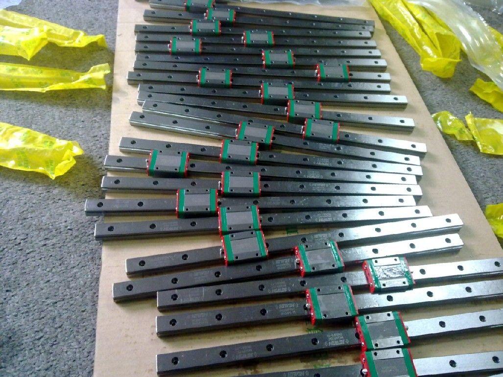 HIWIN MGNR livraison gratuite MGR7-200mm 1 pièces MGR7-250mm 1 pièces MGR7-300mm 1 pièces MGN7C 4 pièces