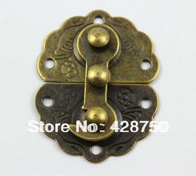 Aliexpresscom Buy Antique Brass Jewelry Box Hasp Latch Lock