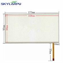 """Skylarpu Nueva 7 """"pulgadas de Panel de Pantalla Táctil Resistiva de 4 hilos 173*93mm pantalla táctil del panel digitalizador libre"""