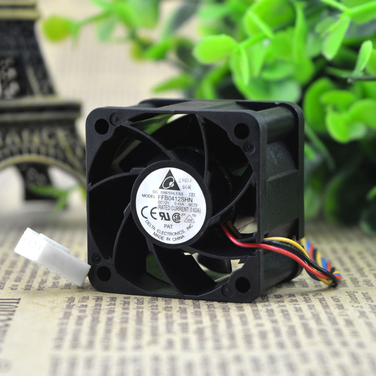 Free Delivery. New original FFB0412SHN 4 cm 4028 cm Double ball bearing cooling fan 12 v PWM free delivery 5 cm fan turbine 5015 24 v 0 11 a d05f 24 ph 3 b