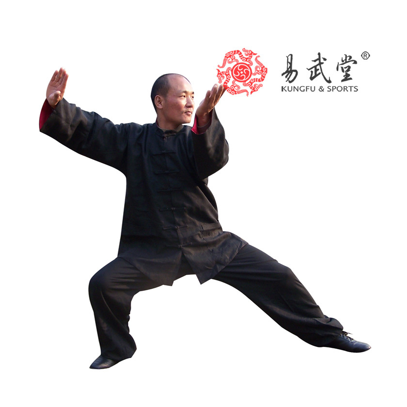 ᑐ[Yiwutang] 98% Lino lavado doble cara uniforme tai chi, Kung Fu ...