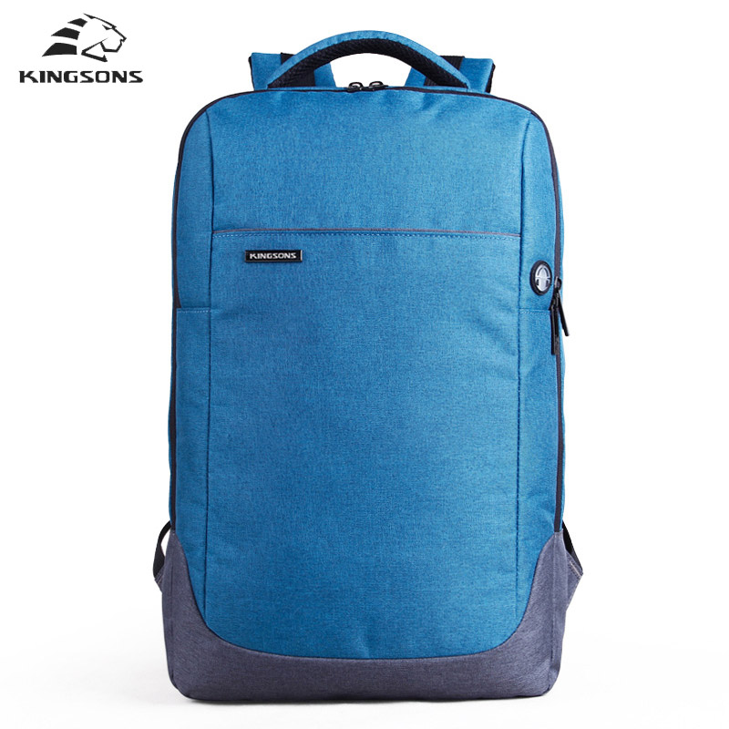 Kingsons 15.6 Inch Laptop Bag Backpack waterproof Anti-theft Large Capacity Sac a Main Men