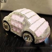 car Perfume holder Creative perfume Air Freshener with shining diamond best gift for kids