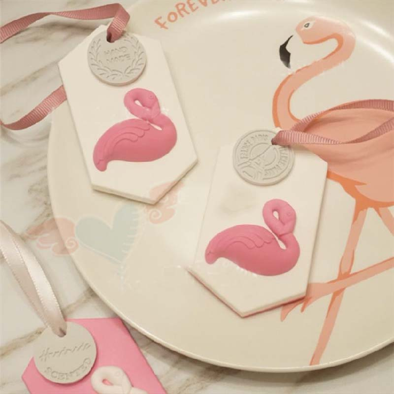 3D Flamingos Bird Shape Silicone Mold Chocolate Fondont Polymer Clay Molds Cake Decorating Tool Sugar Craft Fimo In Extruders From Home