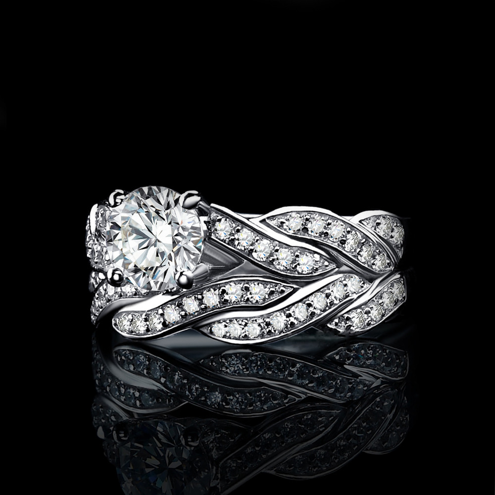 SmykkerPalace Infinity 1.5ct Simuleret Diamond Anniversary Promise - Smykker - Foto 4