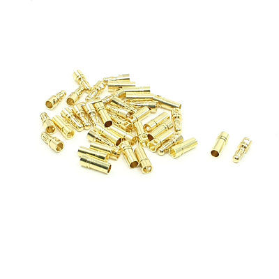 20 Pairs RC Model Battery Male Female Banana Bullet Connector Plug 3.5mm jr futaba male female connector for rc model servo connector model receiver battery esc connection