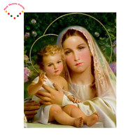 5d Crafts Sale Diamond Embroidery Fashion Free Shipping Diy Diamond Painting Kit Inlaid Decorative Embroidery Religion