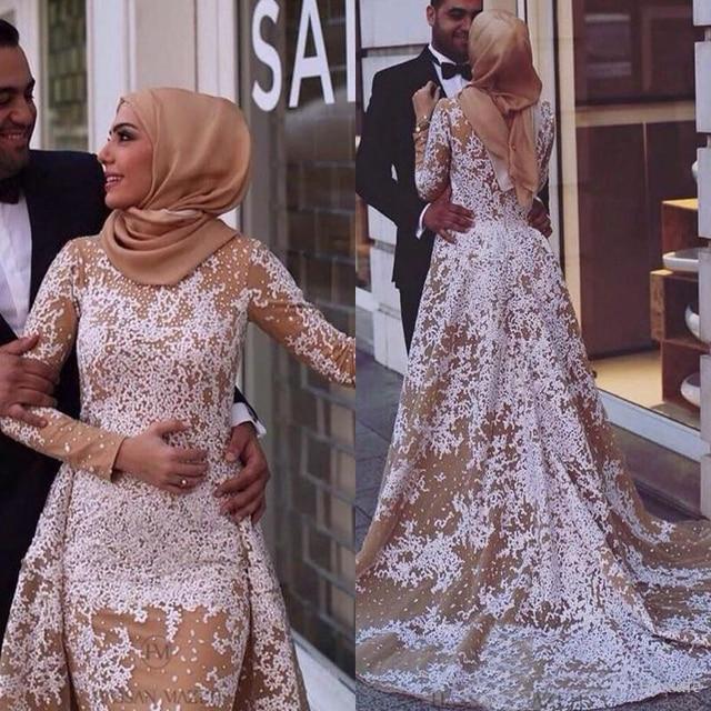 Robe de soiree blanche hijab