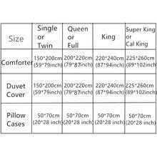 3/4pc 500TC Duvet/Comforter 3D Vivid Red Rose Wedding Bedding Sets