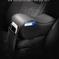 2018 newest Memory Foam Car Armrest Cushions Armrest Center Consoles Head Neck Rest Pillow Pad for Car Motor Auto Vehicle