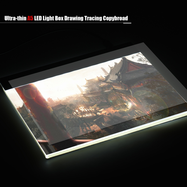 Best Portable Drawing Tablet A5 Led Light Pad Box Graphic Tablet