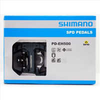 Original Shimano PD-EH500 Pedal SPD Road Bike Touring Pedals With SPD Cleats Bicycle Part