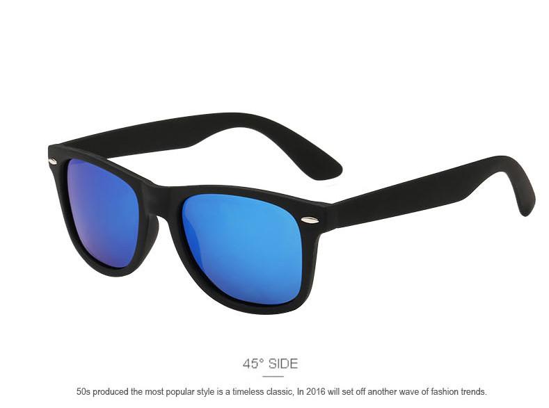 Fashion Brand designer Mens Retro Mirror Sunglasses for Women and Men Sports Driving Polarized Coating UV400 Eyewear Sun Glasses 6