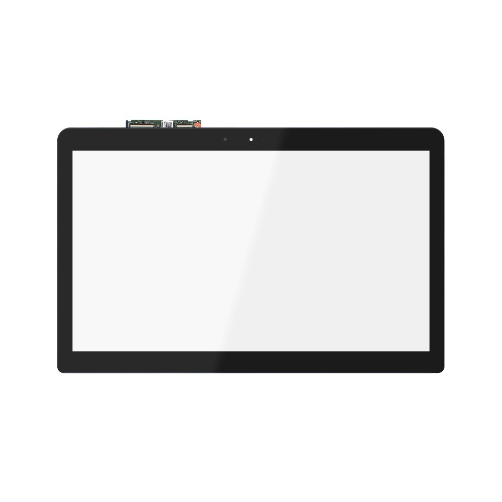 For Asus N593 N593U N593UB Front Glass Touch Screen Digitizer Panel +ControlBoard touch screen digitizer glass for asus vivobook v550 v550c v550ca tcp15f81 v0 4