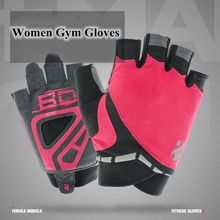Pro Multi-colors Women Fitness Exercise Workout Weight Lifting Sport Gloves Gym Training Hiking Gloves Only for Women Gym Gloves