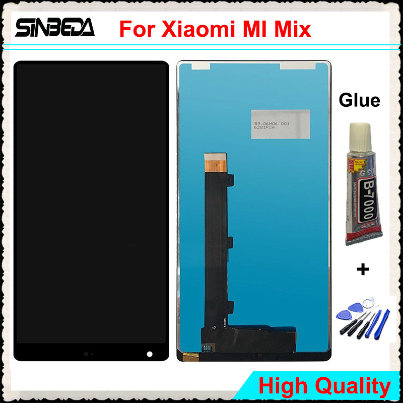 Sinbeda High Quality LCD For font b Xiaomi b font MI Mix LCD Display Touch Screen