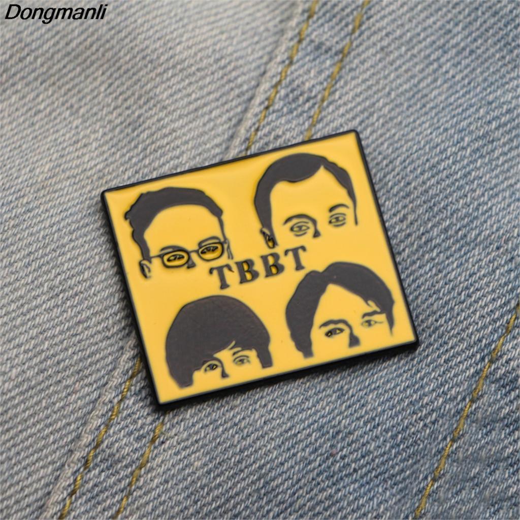 Patchfan The Big Bang Theory TBBT Enamel pins Trendy medal para DIY ...