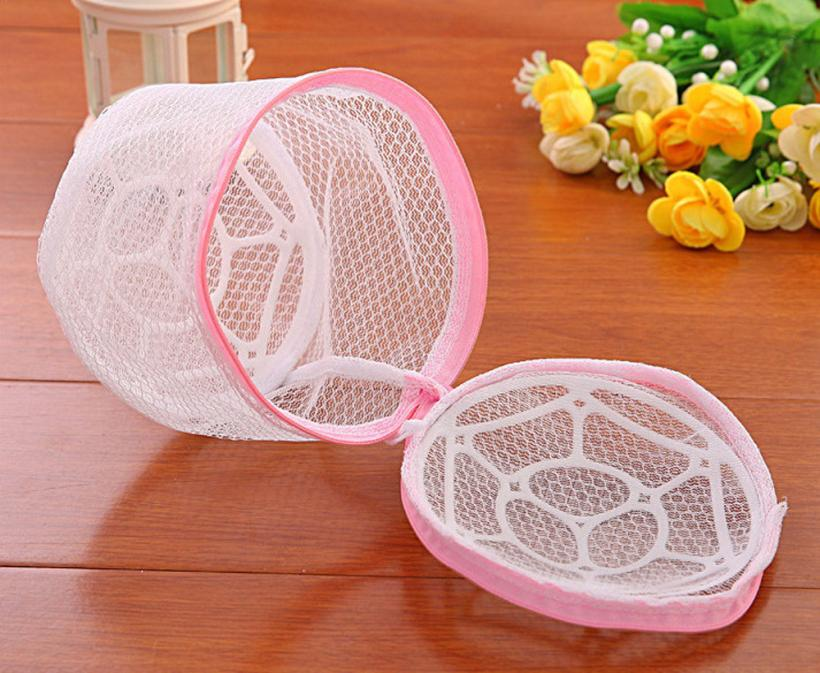 New Lingerie Washing Home Use Mesh Clothing Underwear Organizer Washing Bag Useful Mesh Net Bra Wash Bag zipper Laundry Bag(China)