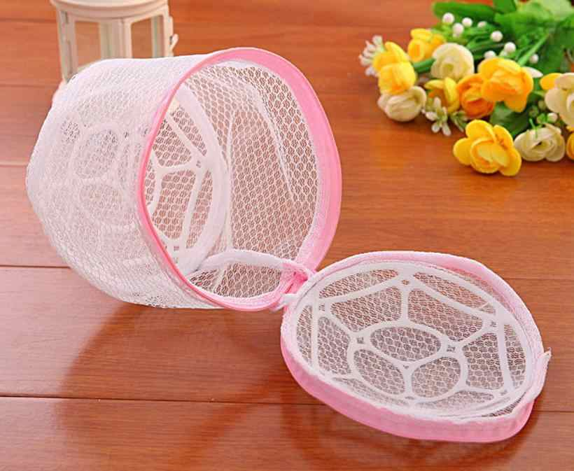 New Lingerie Washing Home Use Mesh Clothing Underwear Organizer Washing Bag Useful Mesh Net Bra Wash Bag zipper Laundry Bag