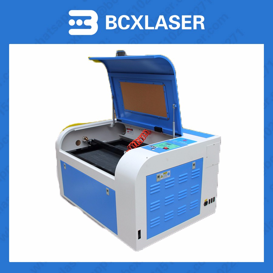 BCXLASER Co2 laser engraving machine & laser cutting machine for fabric leather economic leetro mpc 6525a 6535 motion controller for co2 laser cutting machine upgrade of 6515