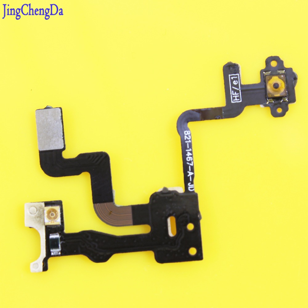 Jing Cheng Da 1pcs For Iphone 4 Power Button Flex Cable Ribbon Light Sensor Power Switch On / Off Replacement for iphone 4 4G