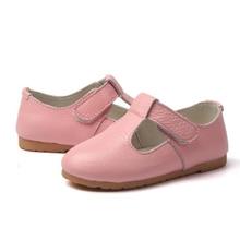 CLOWN DUCKS New Summer Autumn Children Shoes Girls Sandals Genuine Leather Princess Casual Dance