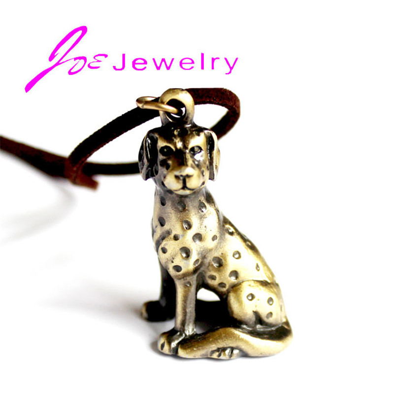 Dachshund Dog Necklaces Pendant Dalmatians Animal Vintage Hippie Chic For Cute Love pet Fashion Jewelry Wholesale 2018 Hot Sale