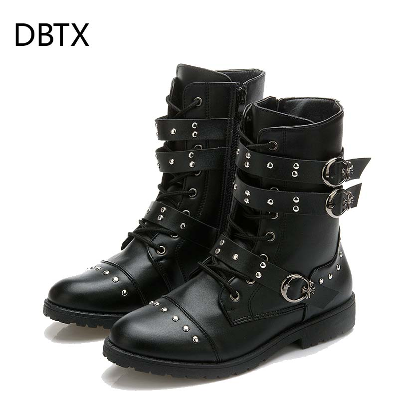 Shoes Men Military-Boots Black Botas High-Quality 664