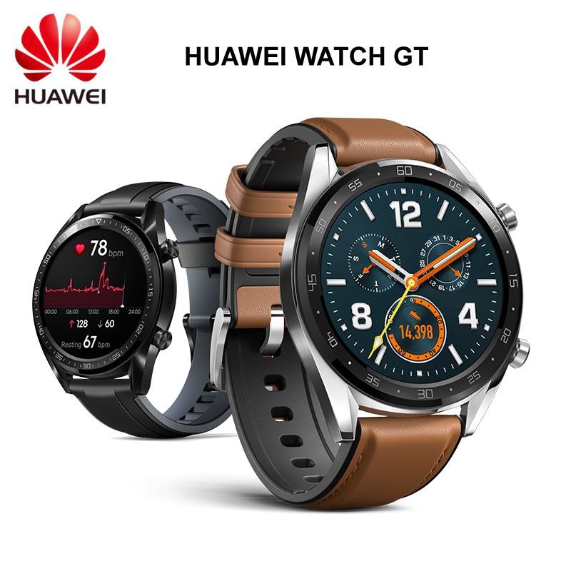 Original Huawei Watch GT Outdoor Smart Watch Extra Long Battery Life GPS Scientific Coach Amoled Color