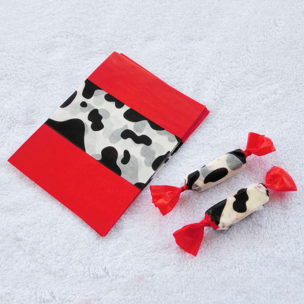Dairy cow Food Wrapping Paper Greaseproof Baking Paper Soap packaging paper candy paper