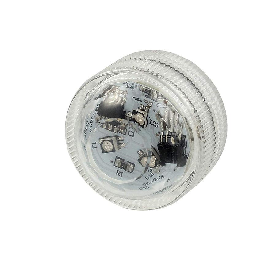 Подводные светодиодные лампы водонепроницаемый SMD3528 RGB подводный ночник Свадебный Чай Ваза-лампа чаша вечерние новогодние гирлянды