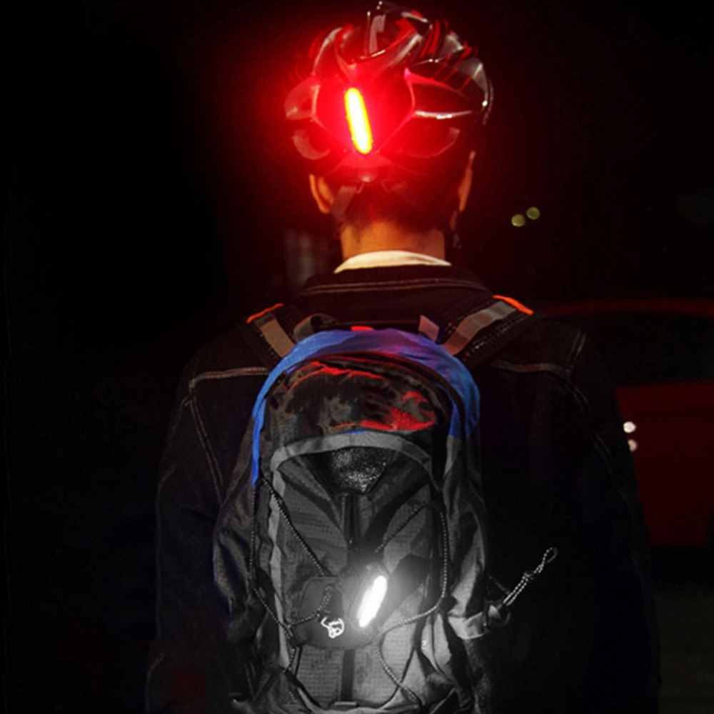 Mountain Bike MTB Riding Equipment USB Rechargeable Bicycle Tail Light Night Light Signal Light Red Safety Warning Lamp
