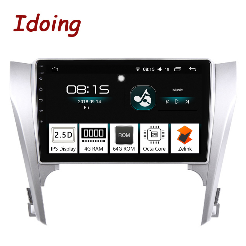 Idoing 10 2 Car Android 8 0 Radio Multimedia Player 4G 64G Octa Core Fit Toyota