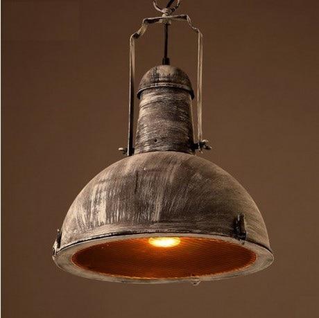 Americano stile loft ferro droplight edison lampade a sospensione vintage ind...