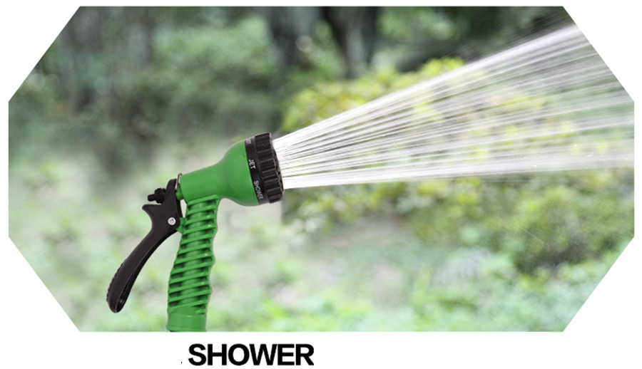 buy vilead garden watering hose reels 100ft with water spray gun green blue expandable magic x hose 30m garden hose for car washing from - Garden Hose Reels