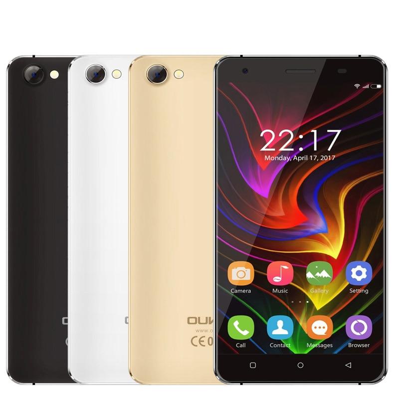 En stock oukitel c5 3g wcdma teléfono móvil mtk6580 quad core Android 7.0 5.0 \