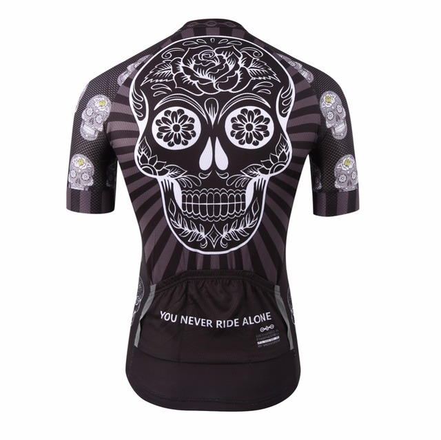 Black short sleeve bike clothes/national team compression cycling shirts abbigliamento ciclismo/popular bicycle jersey top
