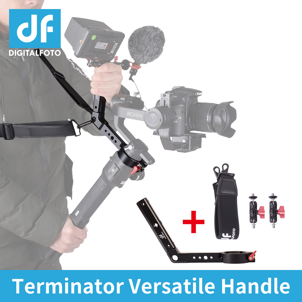 Terminator versatile handle magic arm gimbal accessories for Ronin S like ZHIYUN weebill design mounting microphone