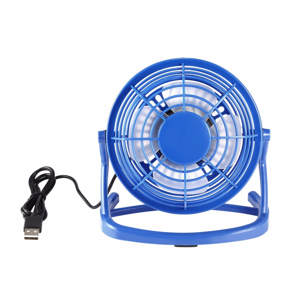 Portable DC 5V USB 4 Blades Cooler Cooling Fan USB Mini Fans Operation Super Mute Silent For PC Laptop Notebook Drop Shipping