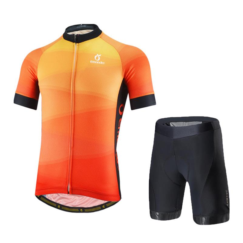 Summer Cycling Jersey Sets Pro Fit Italian Imported 8 Hours Riding Pad Bike Shorts Breathable Cycling Clothing Maillot Ciclismo