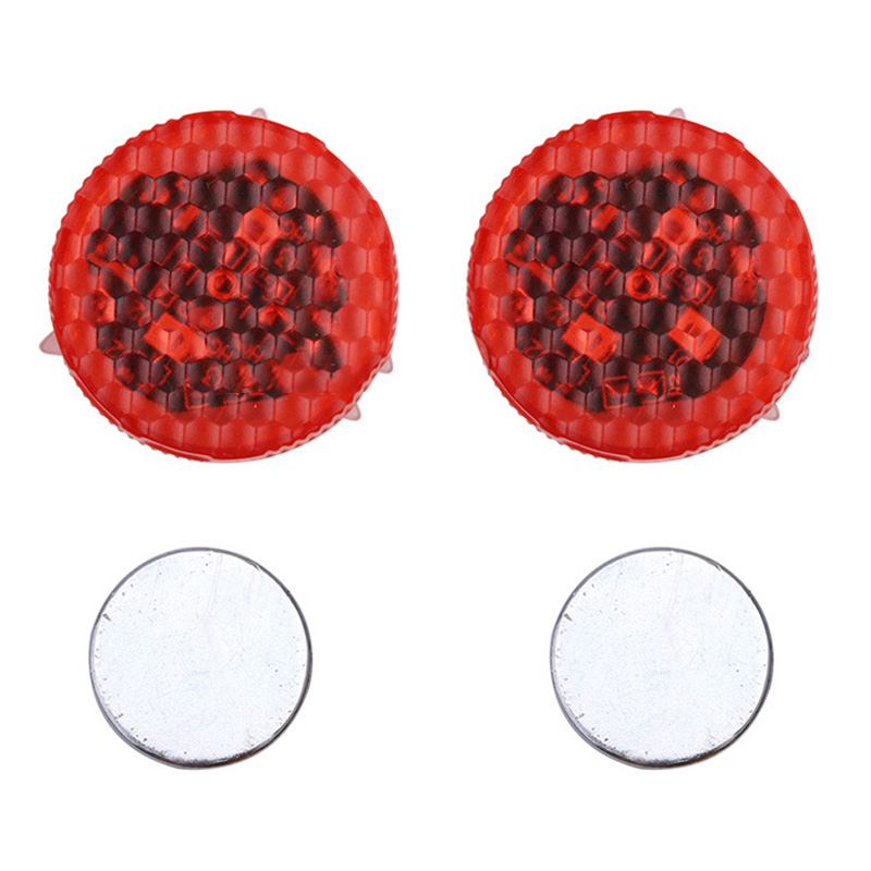 1Pcs Car Door warning signal crash strobe lights LED Opened Anti-collision Warning Lights Red Strobe Flash Wireless Alarm Lamp цены