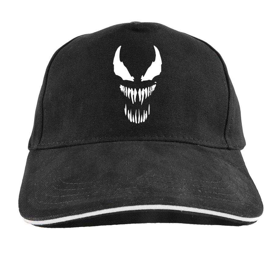 Details about We Are Venom Baseball Cap Marvel Cool Hip Hop Adjustable  Cotton Dad Hat 021de6c7a11