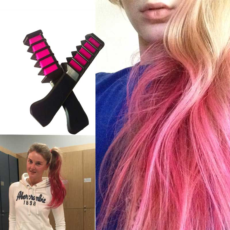 Hair Mascara 2017 New Design Crayons For Hair Color Chalk For The