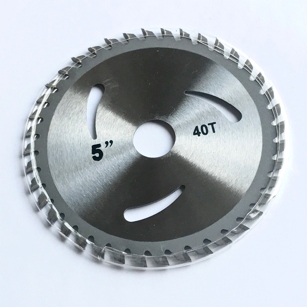 85mm110mm125mm * 24/30 / 40z tct sega a lama multifunzionale in metallo sega disco da taglio in legno di alluminio per taglio generico