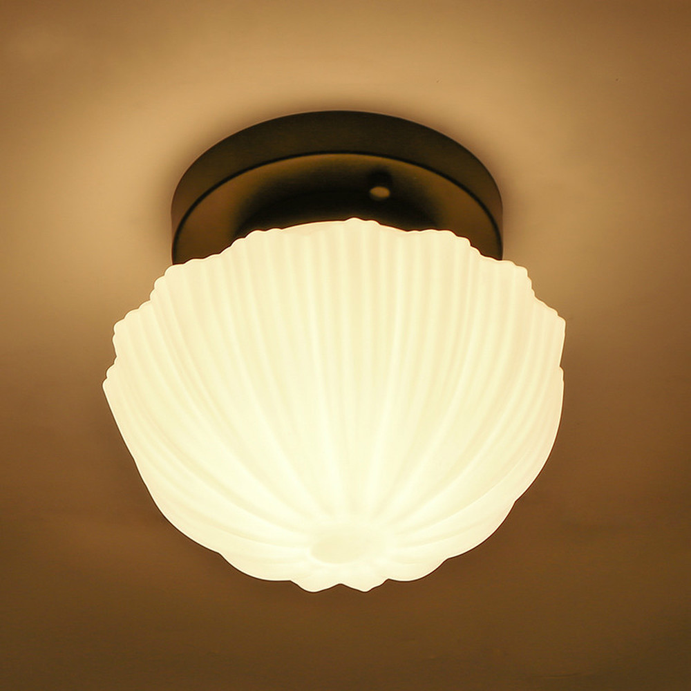 Modern Nordic simple ceiling lamp European iron aisle lamp bedroom lamp study living room ceiling lamp LU8281159
