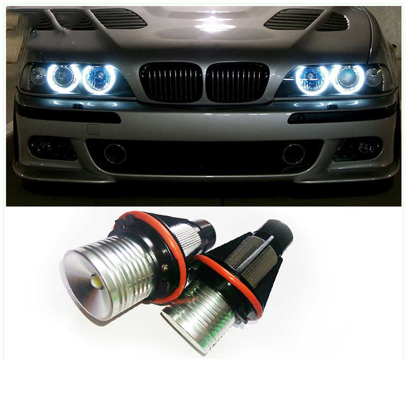 1Set 10W Cree Chip LED Angel Eyes Halo Marker Ring Light