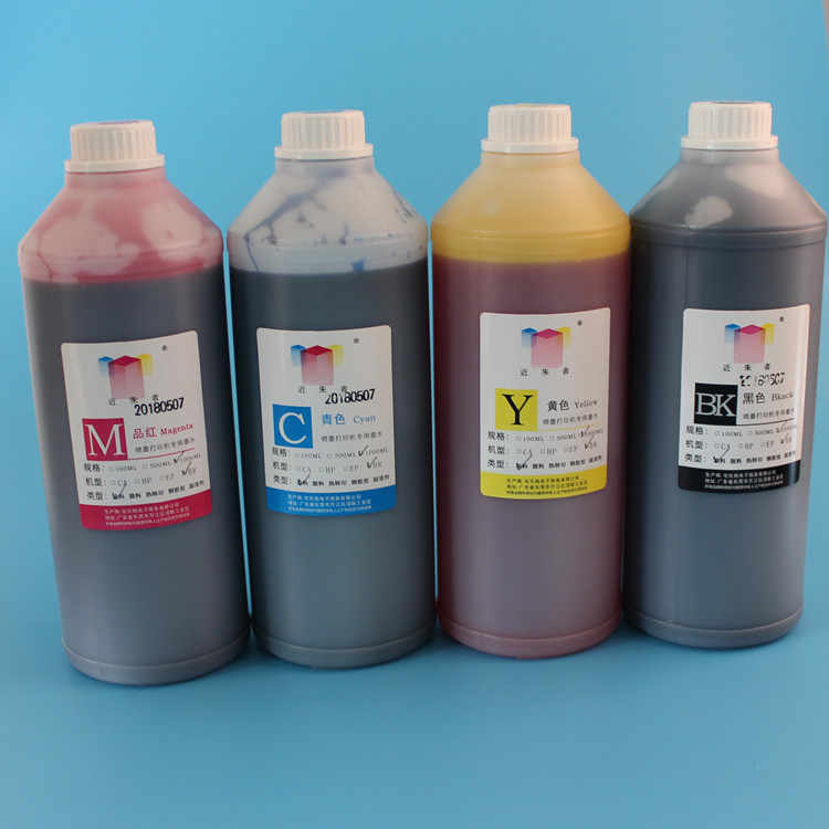 1000 ML 4 Warna Universal Dye ink Refill Tinta kit Untuk HP 816 818 901 802 803 703 Printer Inkjet Cartridge Printer Tinta Dye Tinta CISS